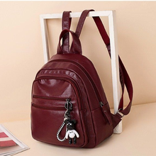 New Style Double-shoulder Bag Leisure Bag All-match Student Bag Girl Single-shoulder Messenger Bag Multi-layer Travel Bag Girl