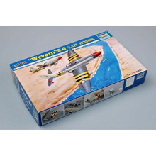 цена на Trumpeter 1/48 Scale British Westland Wyvern S.4 Late Version Fighter Plane Airplane Aircraft Toy Plastic Assembly Model Kit