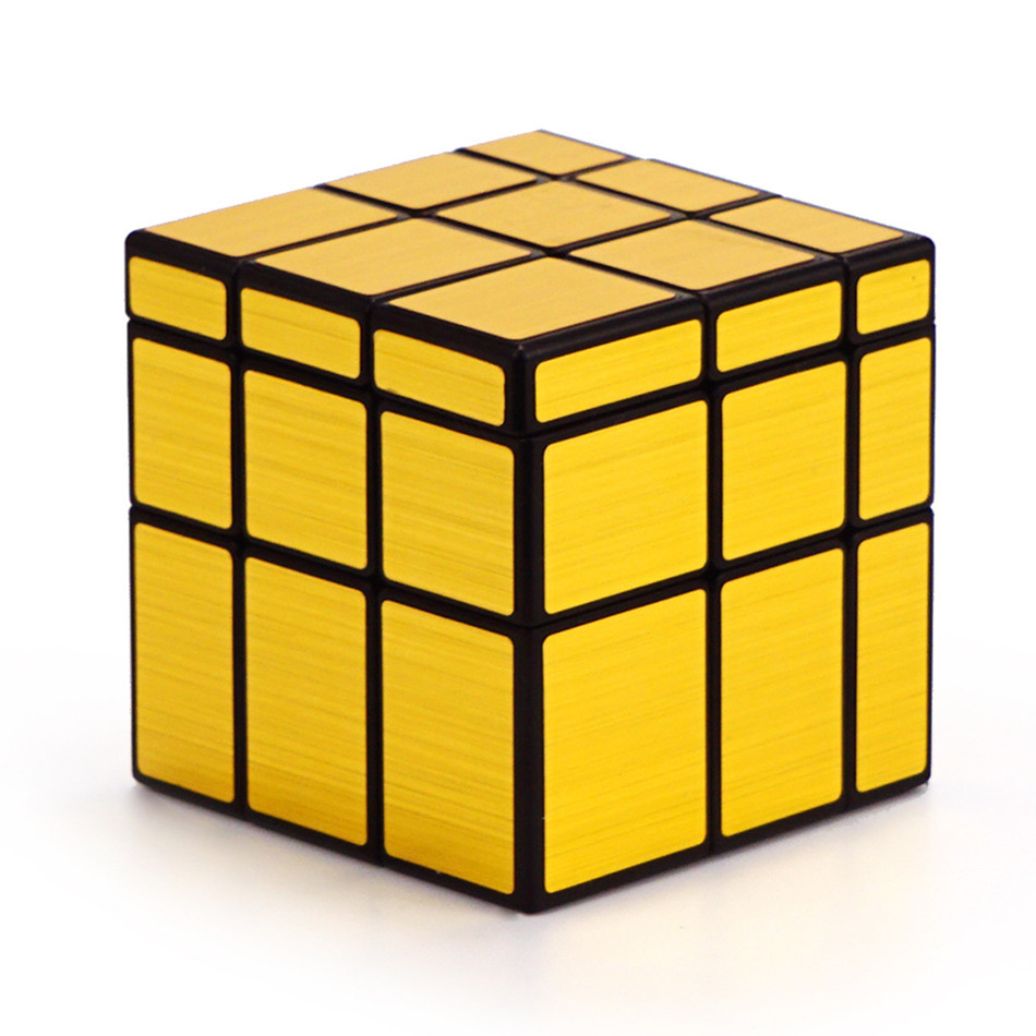 Qiyi Mirror Cube 3x3 Speed Cube 3x3x3 Magic Cube Puzzle Educational Toys For Children Cast Coated Mirror Blocks Gift 7