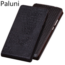 Business Genuine Leather Vertical Flip Phone Case For Huawei Honor 9/Huawei Honor 9 Lite Vertical Phone Case Up and Down Cover