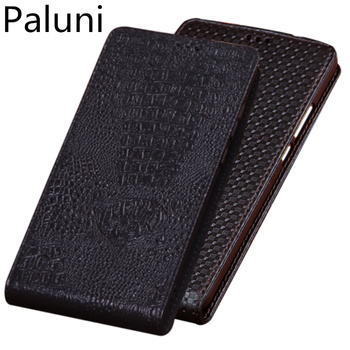 Genuine Leather Vertical Flip Phone Case For ViVo S6/ViVo S5/ViVo Z6/ViVo Z5/ViVo Z5X/ViVo U3x Phone Case Up and Down Holster фото