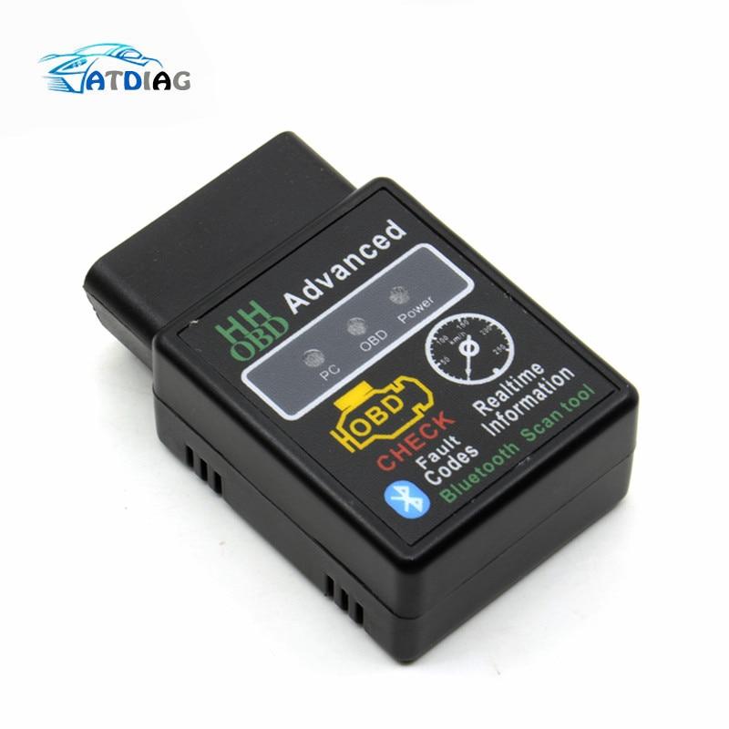 Escáner de códigos para coche ELM327 ELM 2020 V2.1, herramienta Bluetooth Super MINI ELM327 OBD2, compatible con todos los protocolos OBD2, novedad de 327