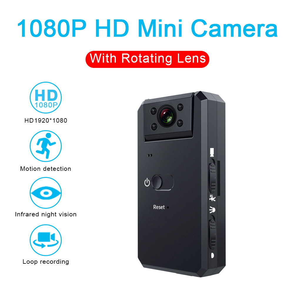 MD90 Mini Camcorder 1080P Camera Night Vision Sport Outdoor DV Voice Video Recorder Action HD Bike Bicycle Recorder