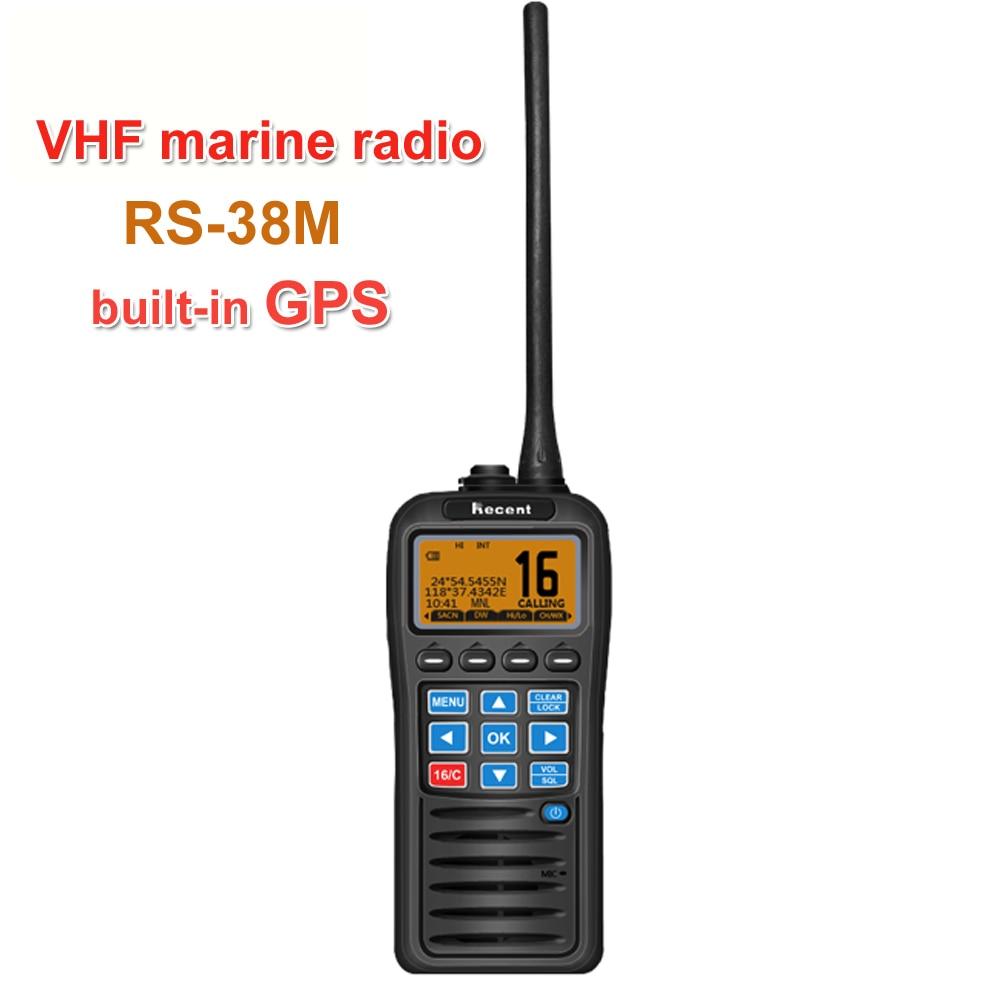 With GPS VHF Marine…