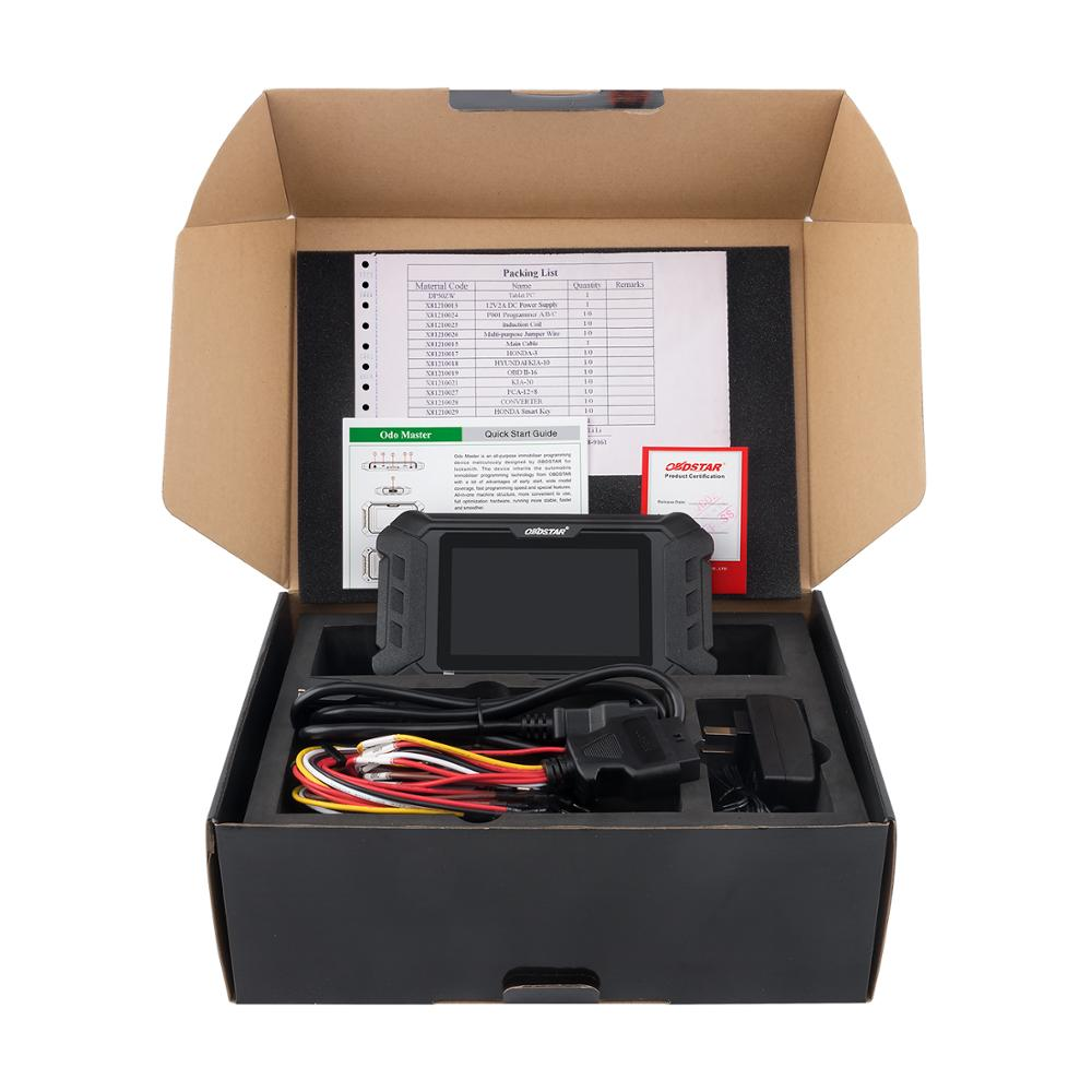 Image 3 - New Arrival OBDSTAR ODOMASTER ODO MASTER X300M+for Odometer Adjustment/OBDII with Special Functions Cover More Vehicles Models T-in Car Diagnostic Cables & Connectors from Automobiles & Motorcycles on