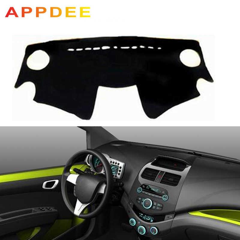 APPDEE araba oto İç Dashboard kapak Dashmat halı pelerin Chevrolet Spark 2013 2014 2015 güneşlik Dash Mat Anti- kirli