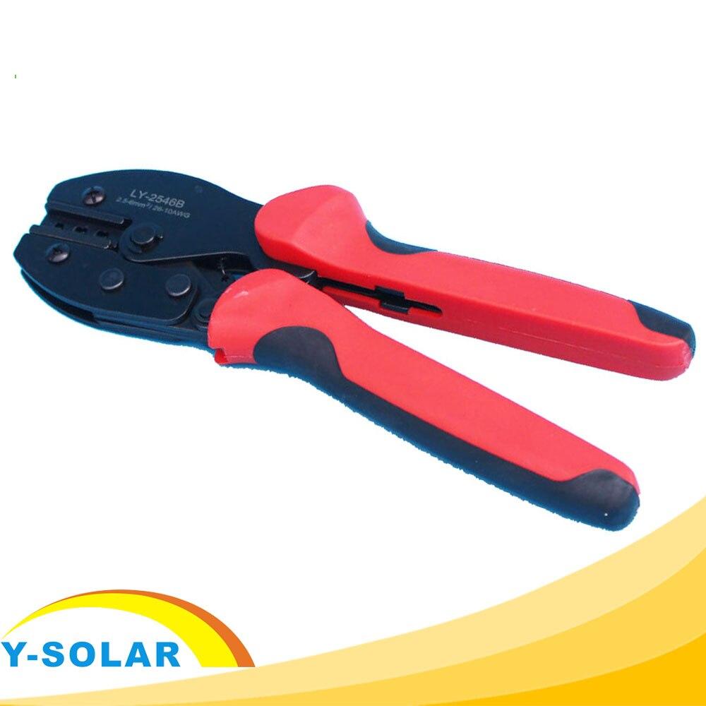 Mano Attrezzo di Piegatura Pliers1 per Cavi del Pannello Solare PV (2.5-6.0mm2) Connettore Solare Y-SOLAR