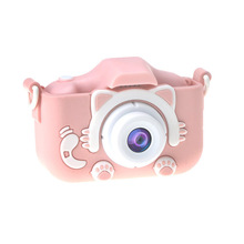 Digital-Camera Photo Children's Baby-Girl Cute for Kids 1080P Built-In-Games
