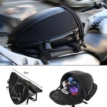 Durable Waterproof Motorcycle Bike Rear Trunk Back Seat Carry Luggage Tail Bag Saddlebag New hot boutique