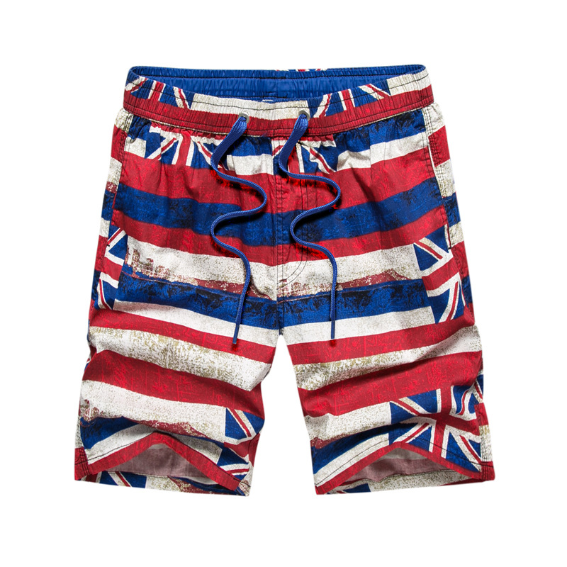 Factory Price COUPLE'S Beach Shorts Cotton Men's Loose-Fit Large Trunks Hot Selling Casual Men's And Women's Shorts-1760