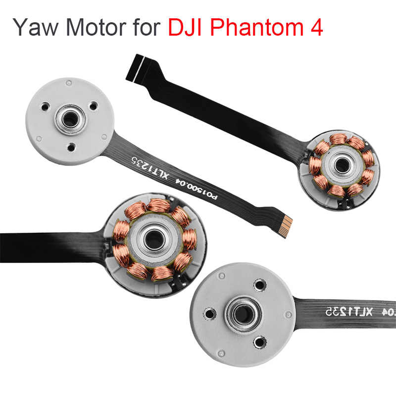 Semi-finished Yaw Motor for DJI Phantom 4 Drone Gimbal Camera Yaw Motor Repair Parts Replacement for Phantom 4 Accessories