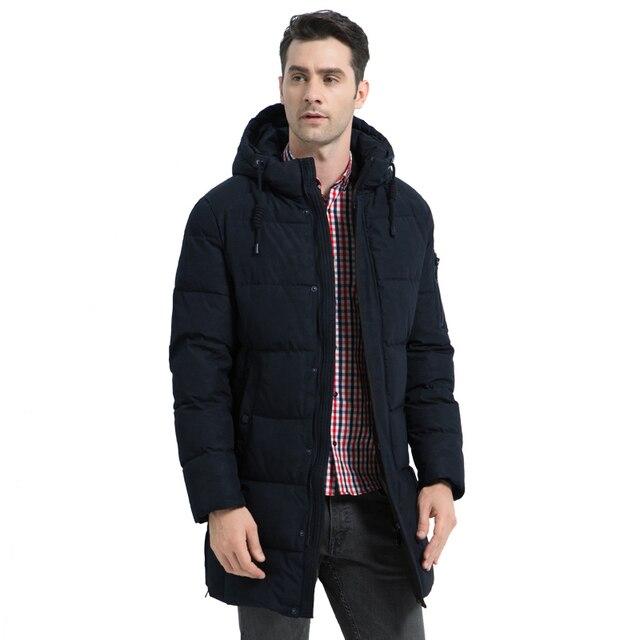 ICEbear, новинка 2019, зимняя мужская куртка, высокое качество, Мужское пальто, Толстая Теплая мужская хлопковая одежда, брендовая мужская одежда MWD17933I