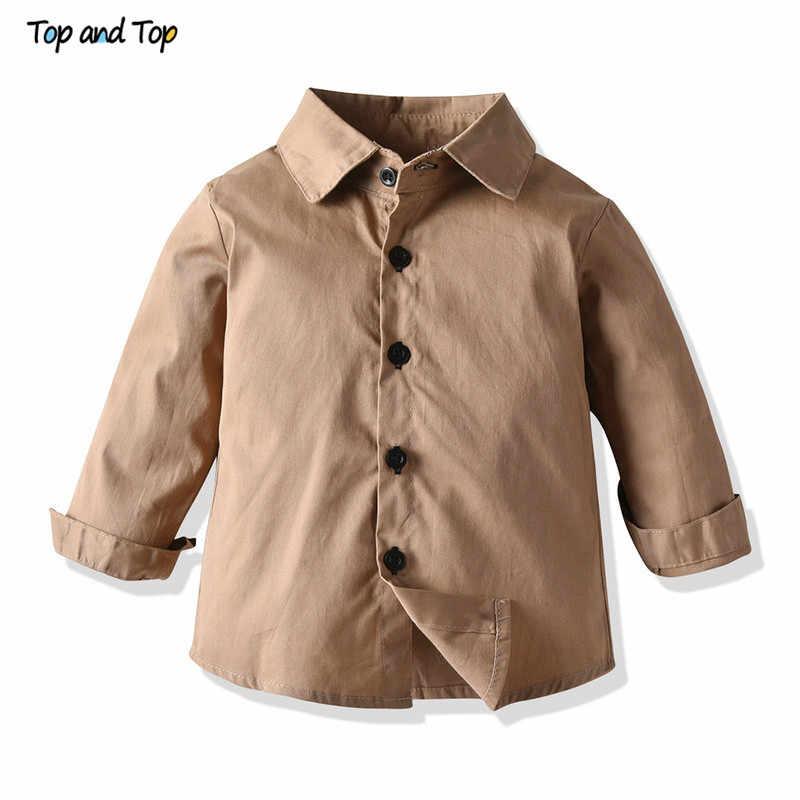 למעלה ולמעלה חדש הגעה אופנה ילדים בני בגדים מזדמנים סט סווטשירט + ארוך שרוול חולצה + מכנסיים 3Pcs תלבושות ילדי ילד בגדים