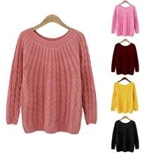 HEFLASHOR Autumn Winter Women Sweater Coat Long Sleeve Korea