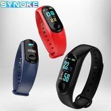 Smart Band Wristband LCD Screen Heart Rate Activity Fitness Tracker Black Blue Women Bracelet Sport Smartwatch