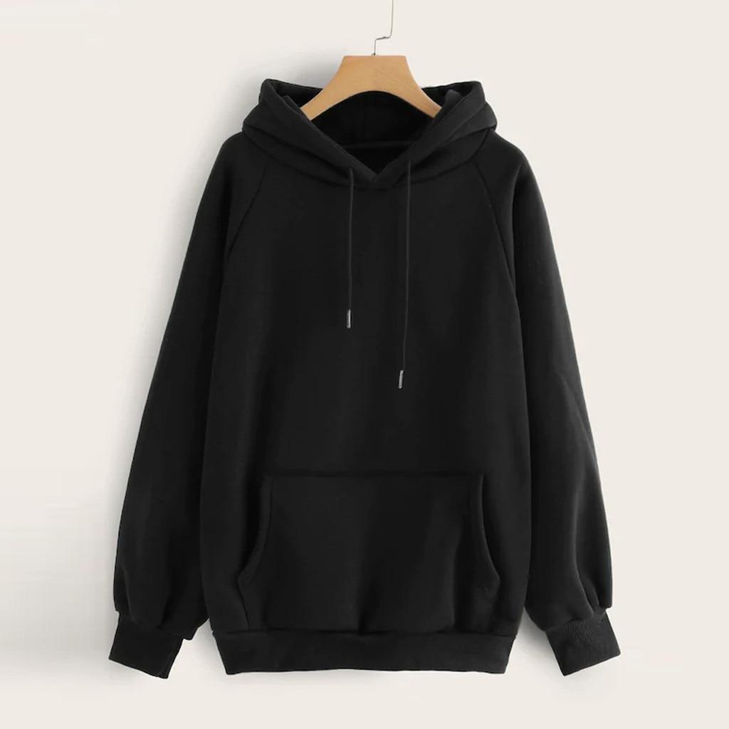 Women Hoodies Sweatshirts Womens Kawaii Kpop Style Hoodie Sweatshirt Hooded Pullover With Pocket Streetwear Hip-hop Hoodies #vk