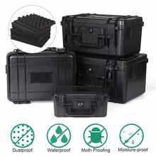 Estuche de seguridad de plástico ABS resistente al agua, caja seca táctica para exteriores, equipo de seguridad sellado, contenedor de herramientas para exteriores