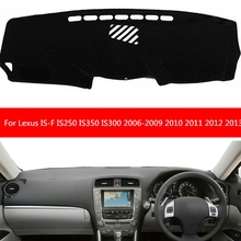 Carpet Dashboard-Cover IS250 Lexus Dash-Mat for IS-F Right-Hand-Drive Sun-Shade 2006-2009