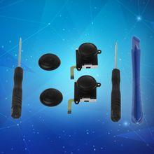 цена на 3D Analog Joystick Switch Thumb Stick Controller Module Sensor Potentiometer Repair Tool Replacement Black for Nintend Switch