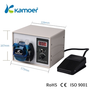 Image 4 - Kamoer High Flow 24V DC DIP Intelligent Power Off Memory Peristaltic Pump With Silicone Tube For Liquid Dispenser Food Industry