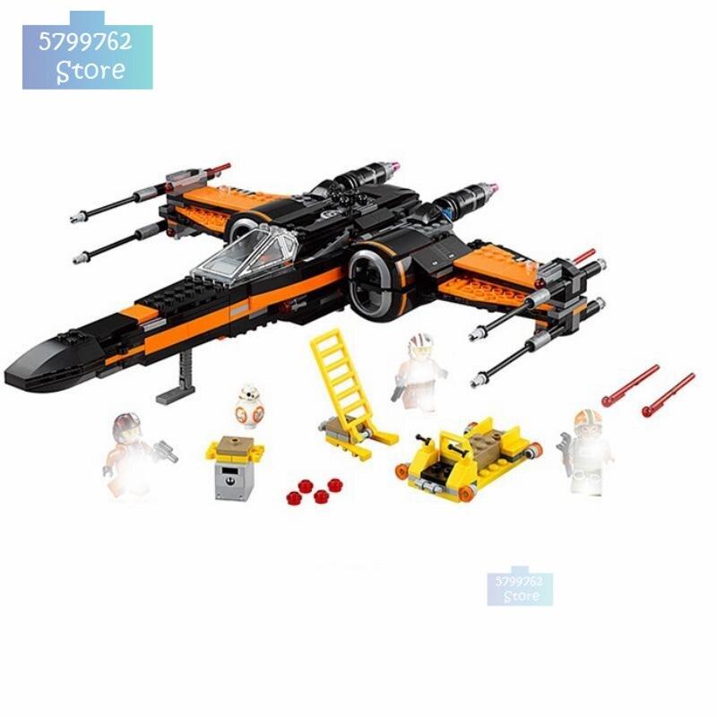 2020 nouveau Star Tie Fighter microfighter Wars la montée de Skywalker avec des blocs de construction Legoinglys Star Wars jouets pour enfants