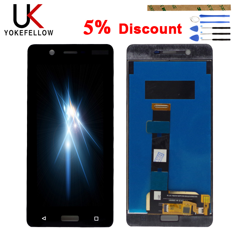 100% Tested LCD Display For <font><b>Nokia</b></font> <font><b>5</b></font> TA-1024 TA-1027 TA-1044 TA-<font><b>1053</b></font> LCD Display With Touch <font><b>Screen</b></font> Assembly image