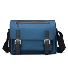 Water Repellent Nylon Business Shoulder Bag For Men Travel Multi-layer Document Bag Large Capacity Laptop Briefcases XA550F