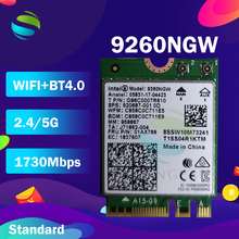 Wifi kartı Intel Dual Band AC 9260 9260NGW 9260AC 1.73Gbps NGFF anahtar bir E Wifi kartı 802.11ac Bluetooth 5.0 Windows 10