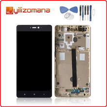 1920x1080 Original For XIAOMI Mi4s LCD Display Touch Screen Digitizer Assembly Xiaomi Mi 4S with Frame Replacement