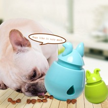 Pet Dogs Cats Fun Bowl Toy Feeder Dog Feeding Pets Tumbler Leakage Food Ball Puppy Training Exercise