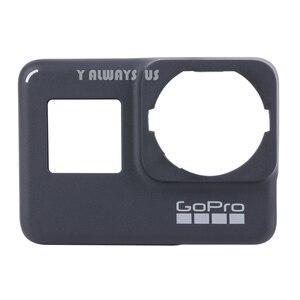 Image 5 - ZESTAW DO NAPRAWIANIA dla płyta przednia GoPro w celu uzyskania płyty czołowej nowy oryginalny przedni Panel pokrywa dla GoPro Hero 7 czarny/biały/ srebrny