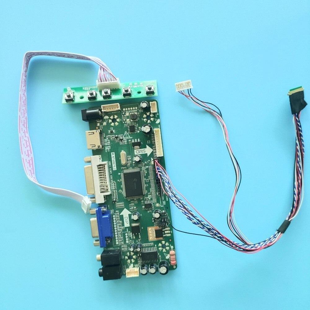 "Kit for B140XTT01.0 14"" LVDS 1366X768 40pin 2019 HDMI audio M.NT68676 VGA controller board Driver DIY LCD LED panel DVI Screen"