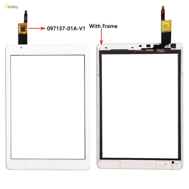 9.7 Inch Touch Screen OLM 097D0761 FPC Ver.2 For Teclast X98 Air III 3 Glass Panel Digitizer Sensor Replacement 097137 01A V1