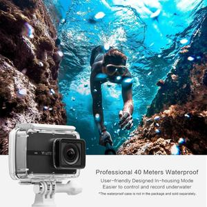 Image 4 - YI Lite Action Camera 16MP Real 4K Sports Camera with Built in WIFI 2 Inch LCD Screen 150 Degree Wide Angle Lens Black