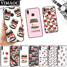 food Chocolate Nutella Silicone Soft Case for Huawei P8 P9 P10 P20 P30 Lite Pro P Smart Z Plus
