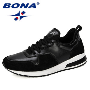 Image 2 - BONA 2019 New Designers Popular Men Shoes Adult Tennis Men Casual Shoes Breathable Footwear Nan Shoes Mens Chunky Sneakers Comfy