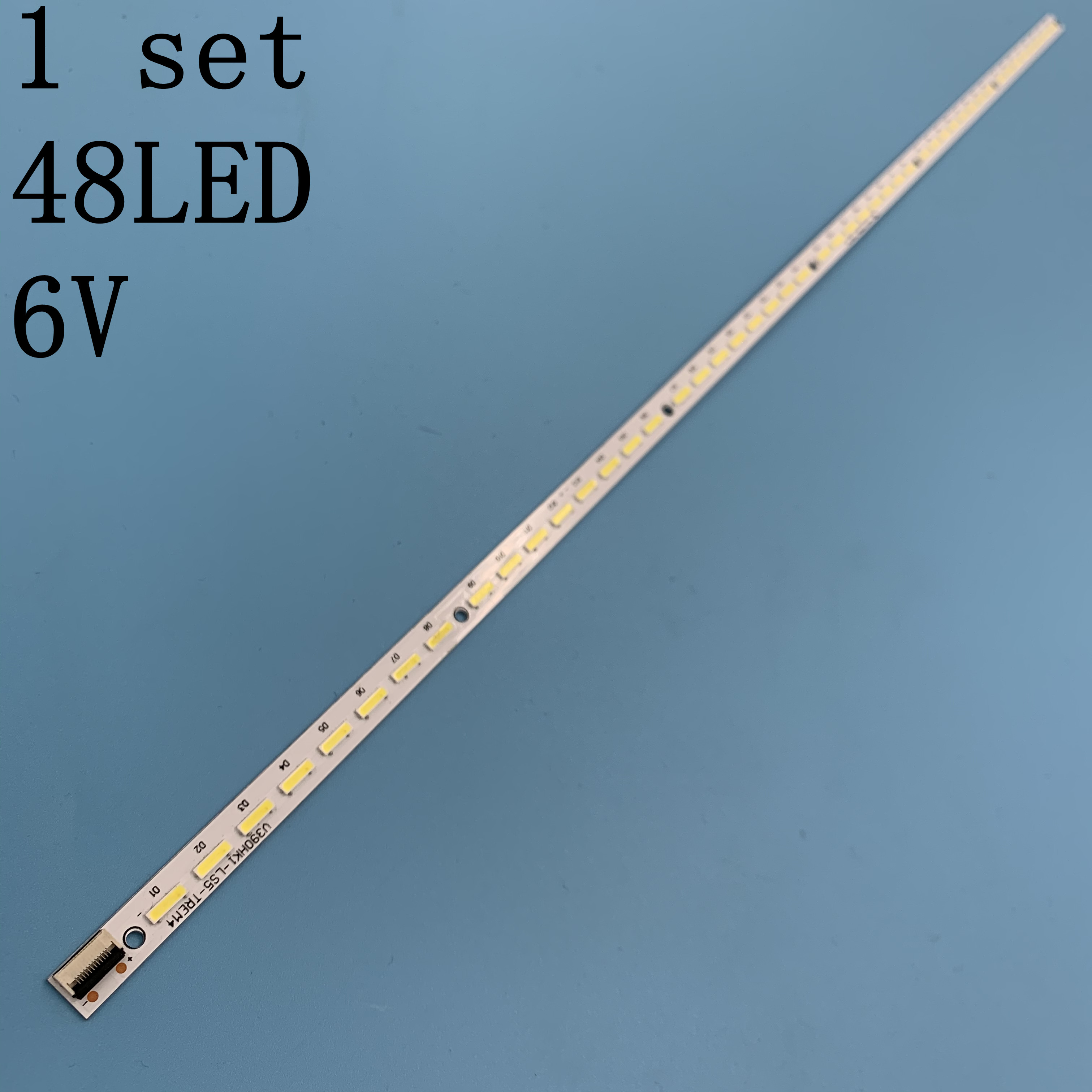 L39E5000 V390HK1-LS5 LED Strip 4A-D069457 V390HK1-LS5-TREW4 (TREM4) 1 Piece=48LED 495MM