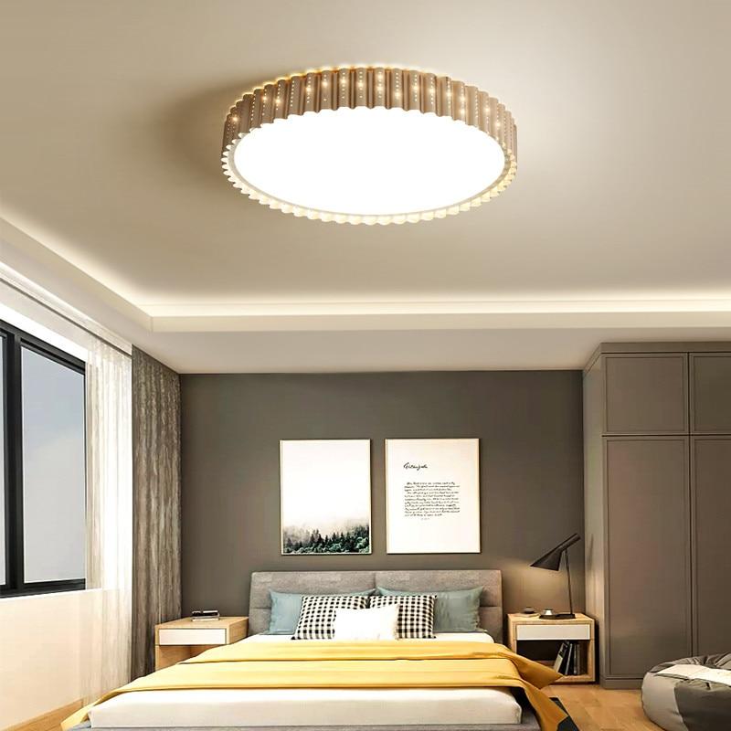 Современный светодиодный потолочный светильник для кухни 220 в 120 В светодиодный светильник металлический золотой потолочный светильник