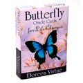 Карты Оракл-бабочки для жизни меняют 44-карточную колоду и руководство, оккультистические книги для гадания, наборы для начинающих Doreen Virtue