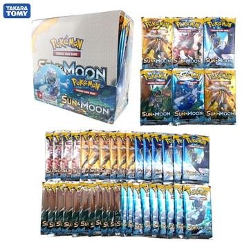 324pcs Pokemon cards TCG: Sun & Moon Edition 36 Packs Per Box Cards Game Battle classeur carte pokemon Child Toy new pokemon sun