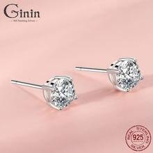 Ginin 100% 925 стерлингового серебра классические блестящие