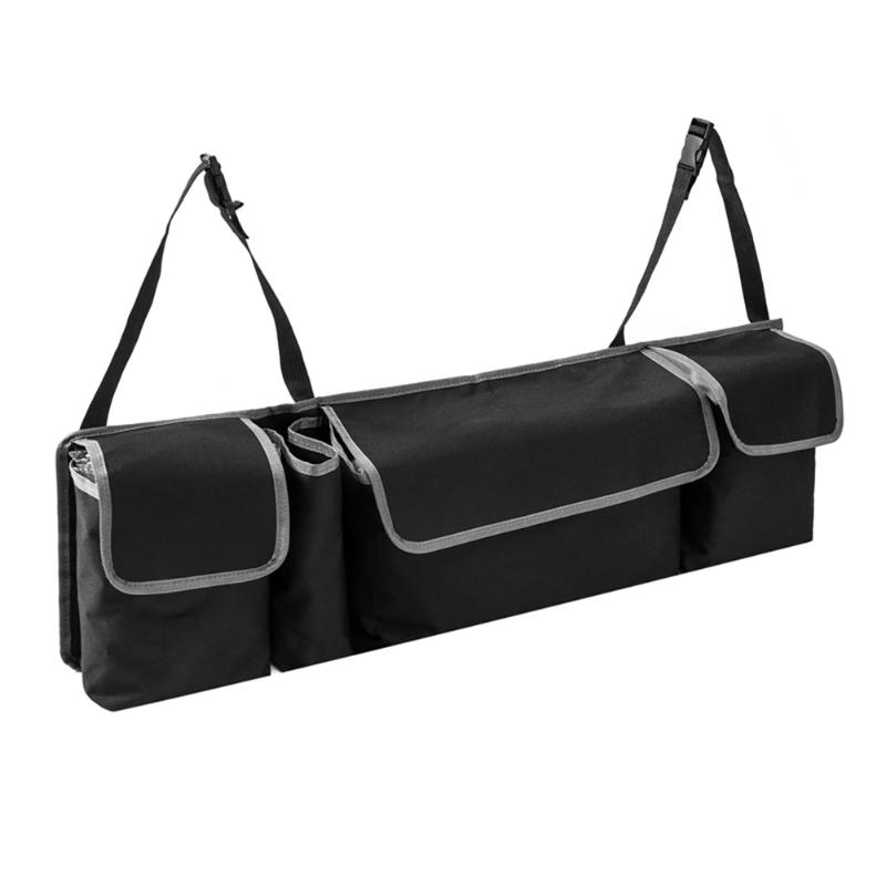 Car Rear Seat Back Organizer Elaborate Manufacture Prolonged Durable 4 Pockets Trunk Storage Bag Interior Accessories