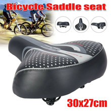 Confortable Extra large grand Bum vélo vélo coussin souple selle siège coussin sportif(China)
