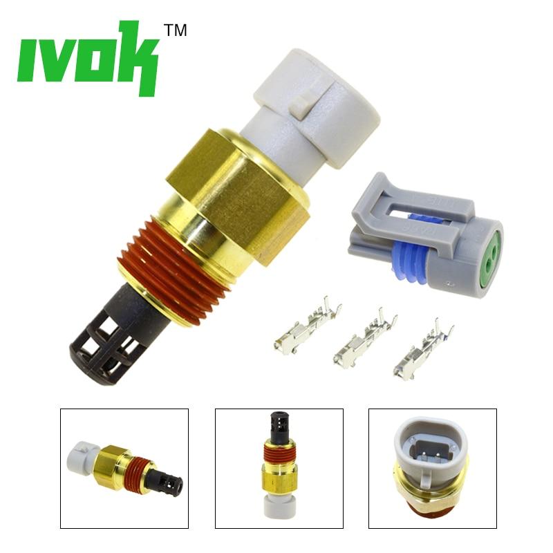 Freies Stecker Kits Ansaugluft Temp Temperatur Sensor Für Chevrolet Express Cadillac Buick GMC Pontiac 25037225 25036751 25037334