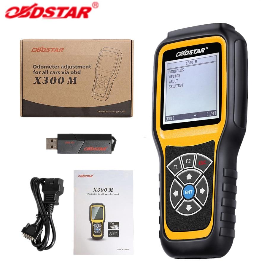 OBDSTAR X300M samochodów OBD2 przebieg korekta korekta narzędzie diagnostyczne