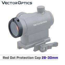 Óptica do vetor red dot scope lente de visão proteção capa se encaixa 28-30mm harpy maverick centurion para airsoft jogo evitar quebrado
