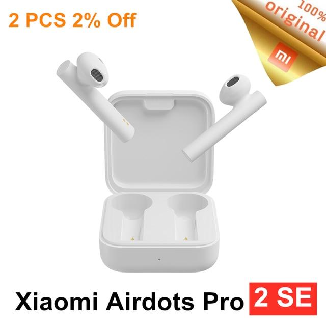 Оригинальные Xiaomi Air2 SE TWS Mi True беспроводные Bluetooth наушники Air 2SE наушники 20 часов в режиме ожидания с сенсорным управлением AirDots pro 2 SE