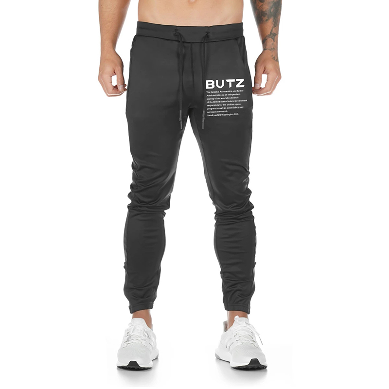 Brand men's jogger fashion casual sweatpants autumn and winter new muscle men training breathable sweat-absorbent fitness pants