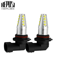 цена на 2x 9006 HB4 9005 HB3 Led Fog Lamp Bulb Auto Car Motor Truck 80w 12V 24V White high power LED Bulbs Driving Running Light DRL