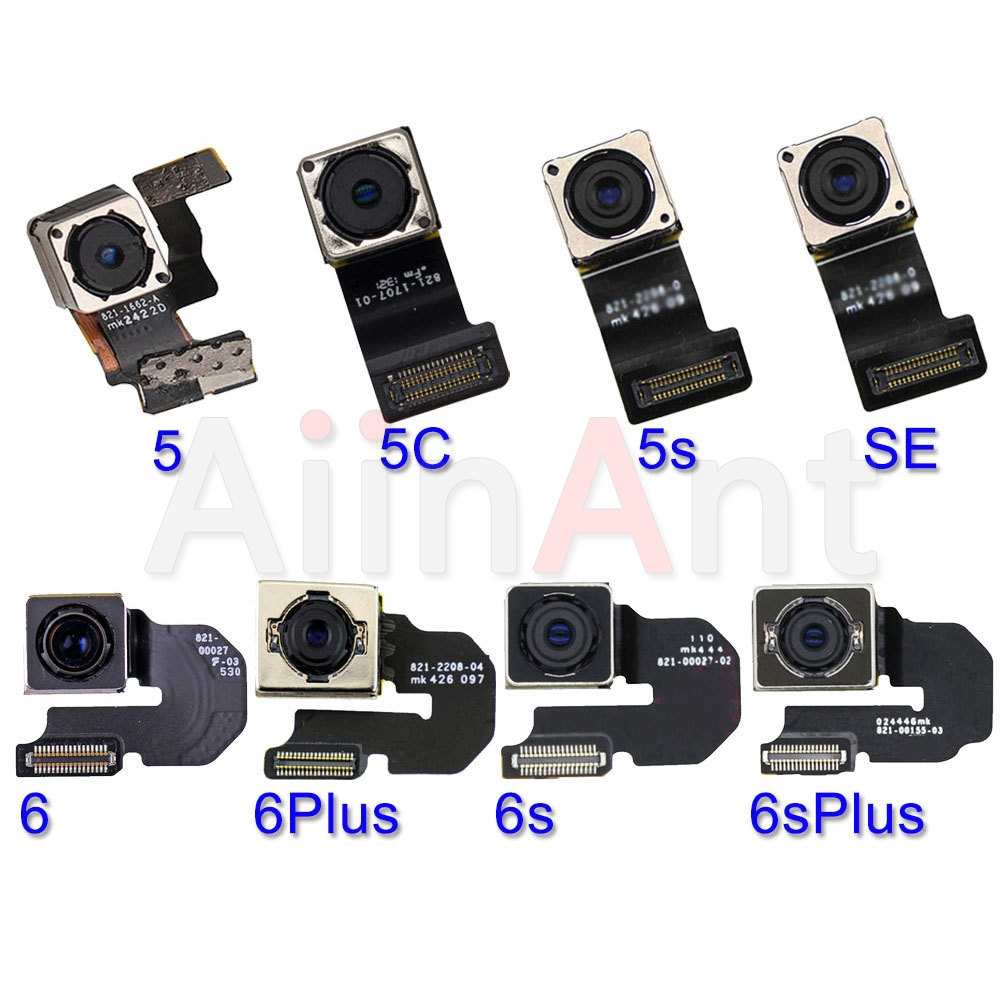 Original Main Back Camera Flex For IPhone 6 6s Plus SE 5 5s 5c Rear Camera Flex Cable Mobille Phone Repair Parts